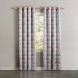 Mixed Triangle Blackout Curtains